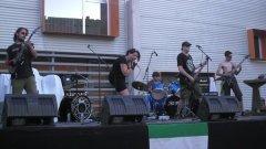 """Concierto de """"Puto perro Bruto"""" en 2009. Mi debut como cantante"""